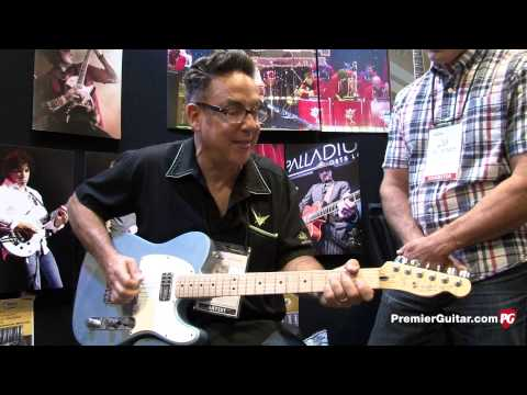 Summer NAMM '14 - TV Jones T-Armond and Duo-Tron Demos