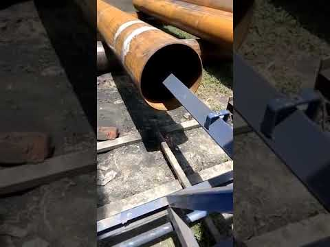 Internal Pipe  Blasting