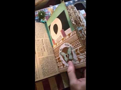 Vintage Native American Junk journal