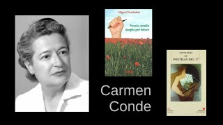 Carmen Conde – Finiĝis la milito – legas Miguel Fernández – Esperanto