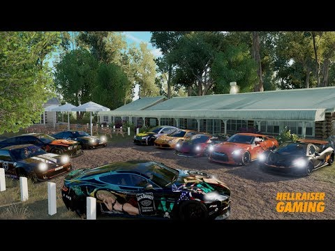 Forza Horizon 3 Halloween 2017 Car Show, Cruise, Infected, Funny Stickers, 1,500Hp Mustang And More!