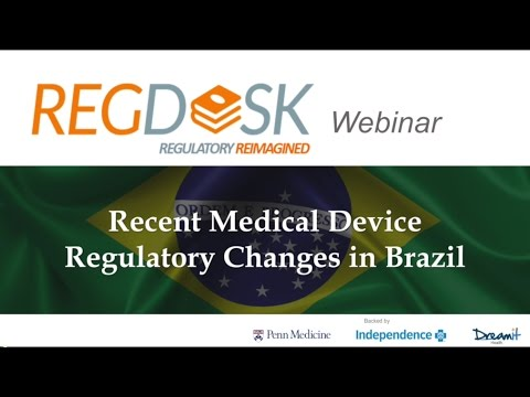 Brazil's New Changes to Medical Device Regulations