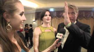 Dolph Lundgren Interview at the 2012 Night of 100 Stars Viewing Party