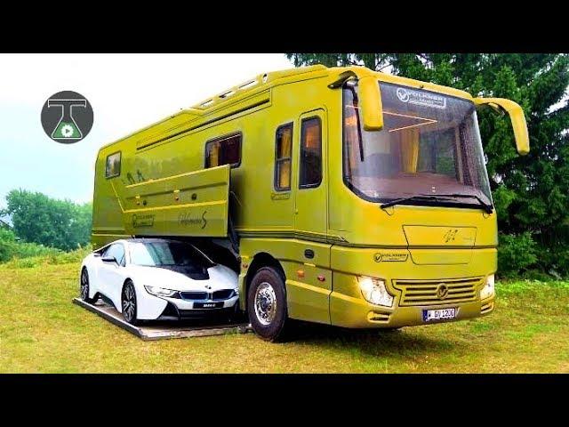 6 Luxus-Wohnmobile, die Sie sehen müssen + video