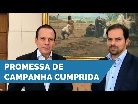 João Doria anuncia economia de R$100 milhões com devolução de carros alugados pela Prefeitura