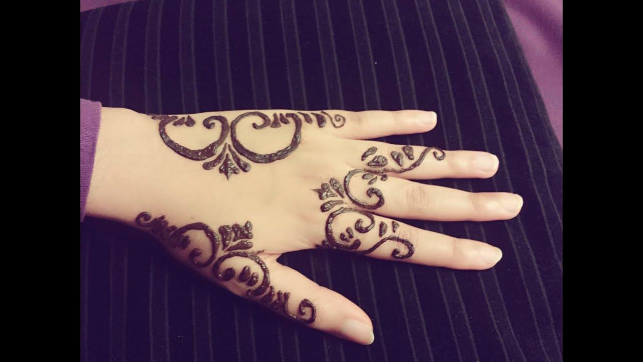 Arabic Henna Tattoo Simple Arabic Mehendi Design Easy Stylish