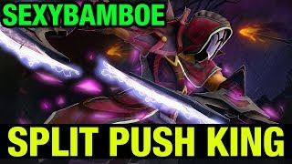 SPLIT PUSH KING!! - SEXYBAMBOE ANTI-MAGE - Dota 2