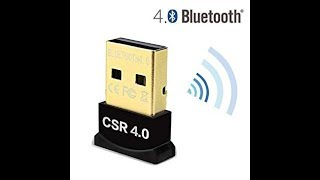 unboxing bluetooth csr 4.0 dongle and how to install it