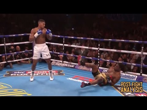 """ANTHONY JOSHUA DESTROYS CHARLES MARTIN IN 2 ROUNDS!!! """"AND THE NEW"""" - FIGHT AFTERMATH"""
