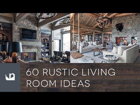60 Rustic Living Room Ideas