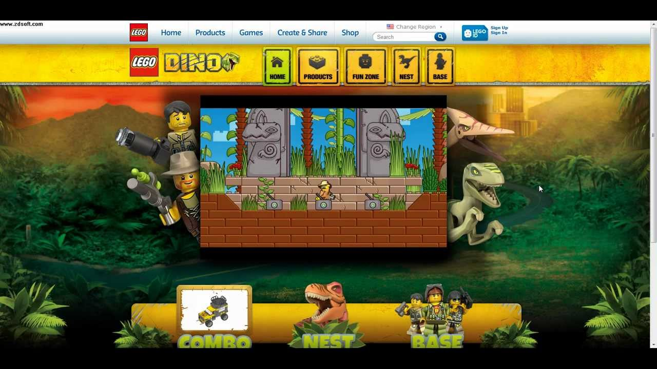 Dinosaur Games - Play Free Online Dinosaur Games | Kizi