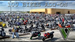 GTA V: 100 Bikes/ Motorcycles  (Add-On) Compilation Pack 2016