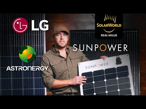 Best Solar Panels for Your Project