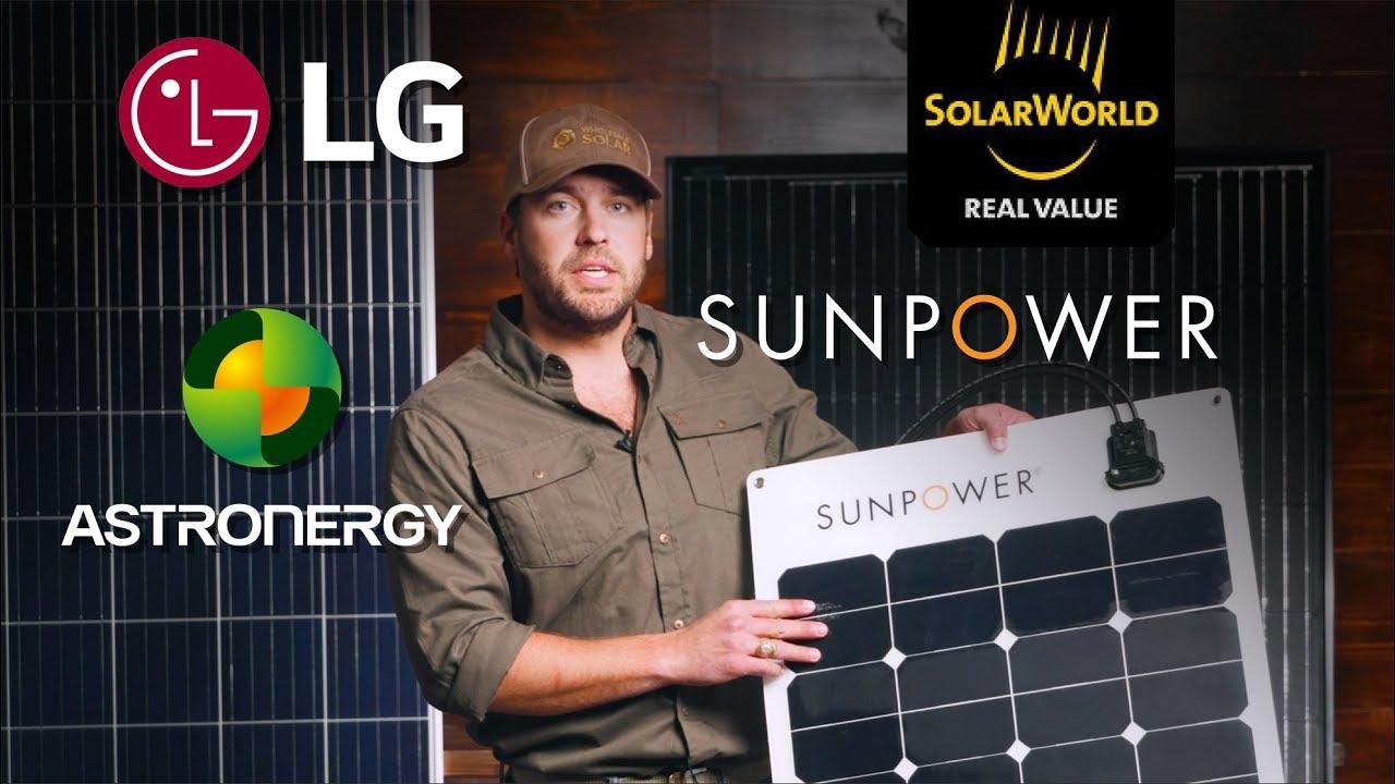 SunPower SPR-E-Flex-100 Flexible 100 watt 12 Volt Solar Panel
