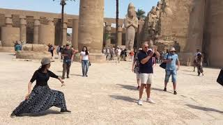 Played Tai Chi in Egypt, Feb 2020
