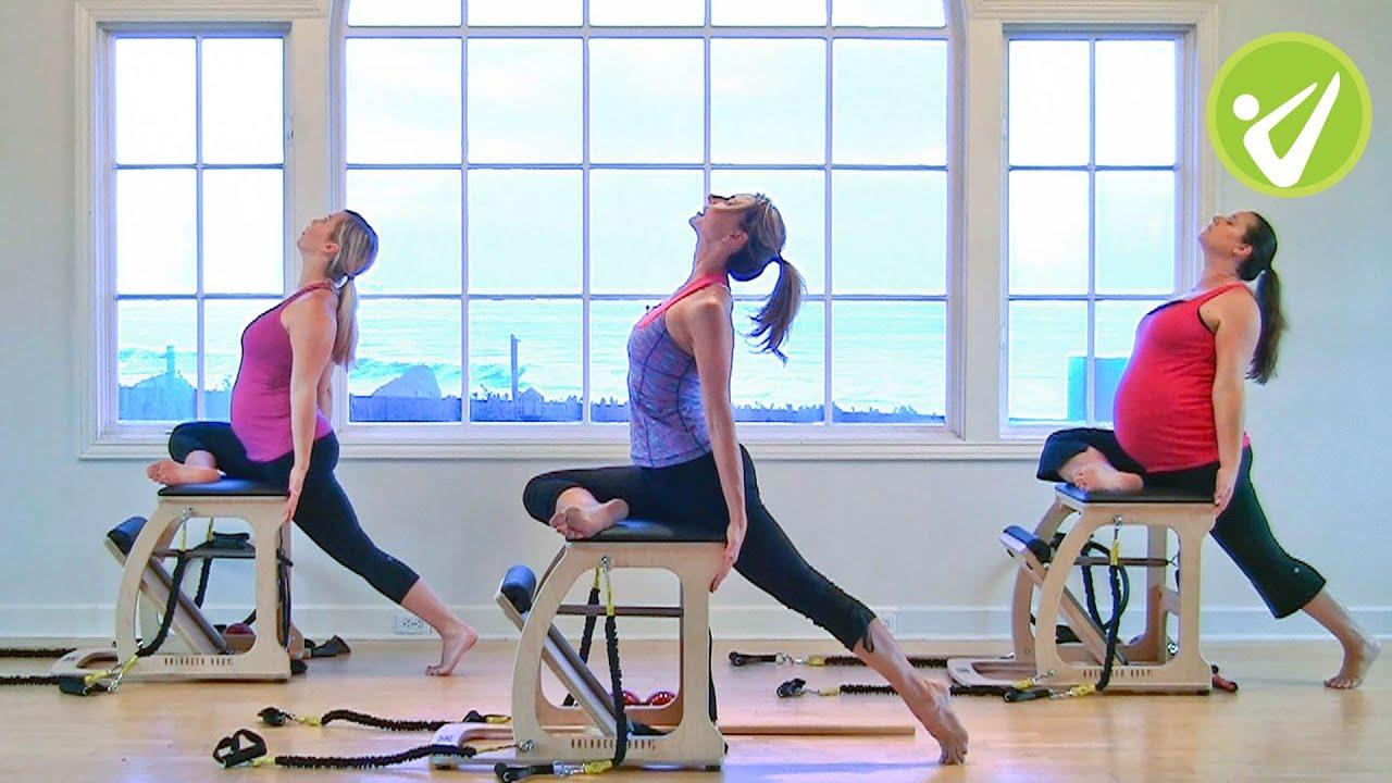 Amy Cady Pilates Beginner Prenatal Wunda Chair Workout