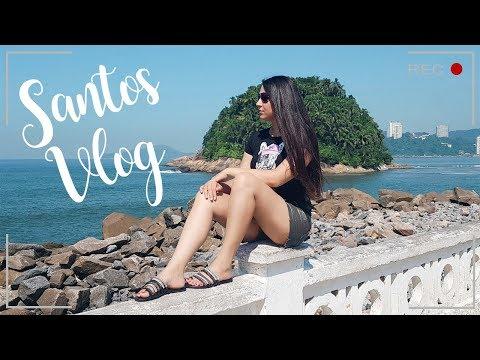 Vlog: Santos Com A Família | Praia, Teleférico, Aquário, Pista De Skate Chorão, Jardim, Guarujá