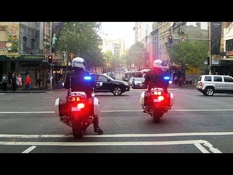 Ride along with NSW Police as they patrol Sydney's CBD in operation Fabian