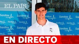 Directo | El REAL MADRID presenta a Thibaut COURTOIS