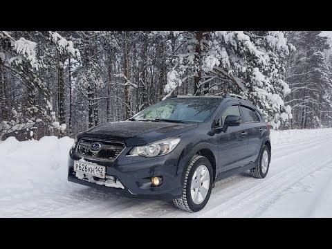 Subaru XV / Поездка в поселок Усть-Нарык. Кемеровская область