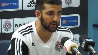 Partizan NIS - MZT Skoplje Aerodrom 82:61 06.10.2015. - Aleksandar Cvetković izjava