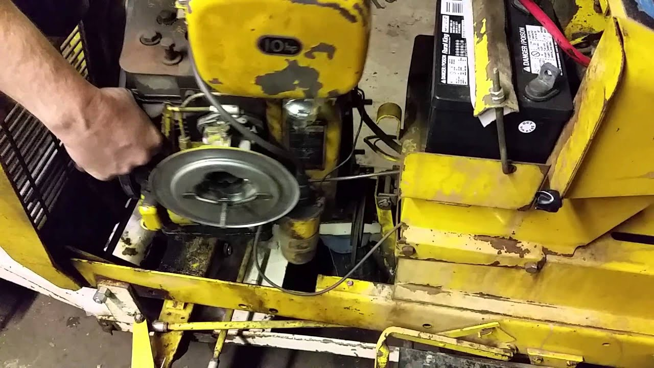 For John Deere 1050 Tractor Wiring Diagram Cub Cadet 102 Easy Way To Install A Clutch Youtube
