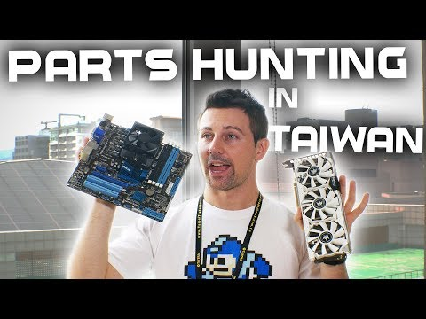 USED PC Parts Hunting in Taiwan?! | Taipei Pre-Computex 2017 Vlog