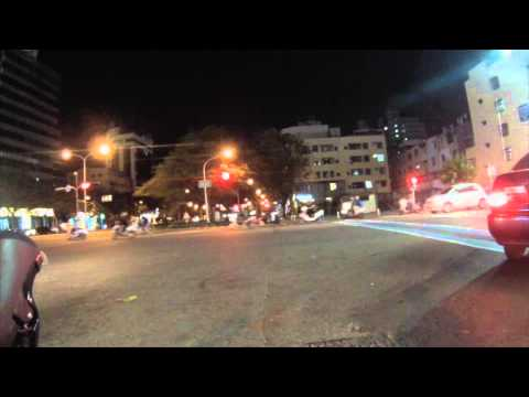 1st GoPro Shot - Kaohsiung, Taiwan: The Streets