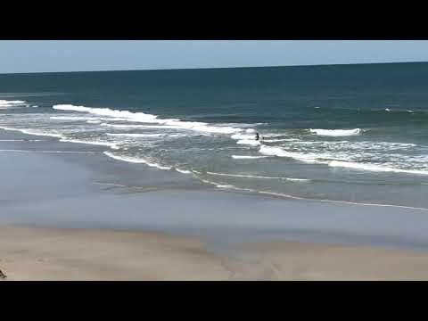 Rip current on Jacksonville Beach, FL