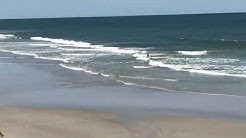 Rip current on Jacksonville Beach, FL