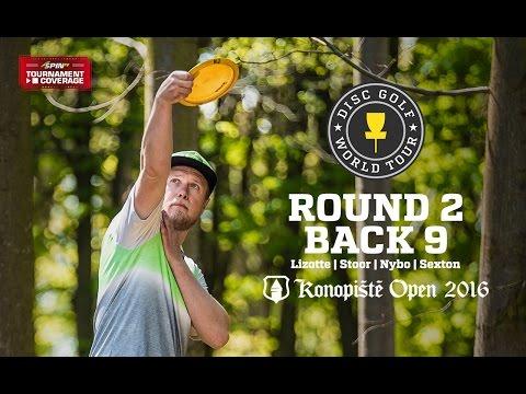 2016 Konopiste Open: Round 2, Back 9 (Lizotte, Stoor, Nybo, Sexton)