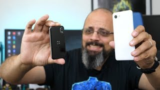 Double Unboxing of the Google Pixel 3 & Palm Phone 2018 Exclusively, Verizon (video & Audio Samples)