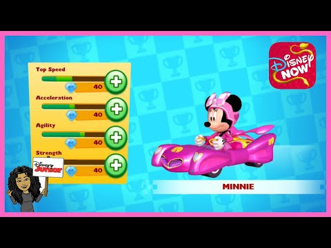 Disney All-Star Racers With Minnie Mouse | Disney Junior Games | Disney Now App