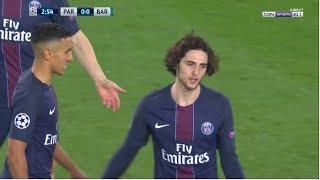 Adrien Rabiot vs Barcelona (Home) 2016-17
