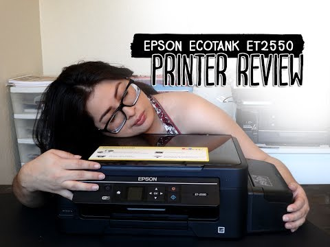 Epson Ecotank ET 2550 Printer Review 2017