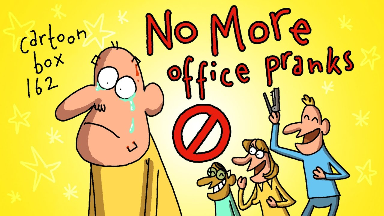 No More Office Pranks! | Cartoon Box 162 | by FRAME ORDER | Office prank cartoons