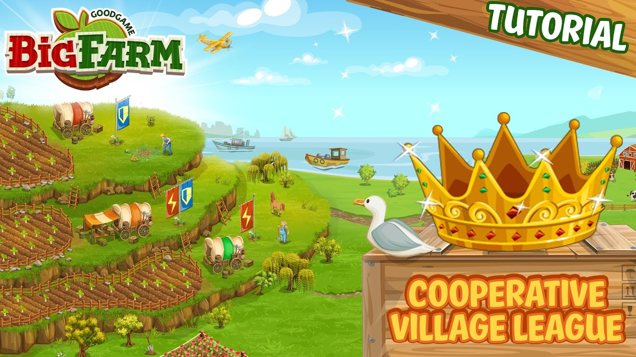 Big Farm - Cooperative Village League - Tutorial - YouTube