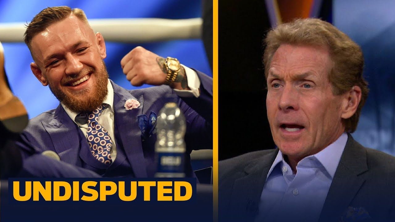 low priced 17d6c afc6b Conor McGregor 'punk'd' Draymond Green in Instagram feud says Skip Bayless  | UNDISPUTED