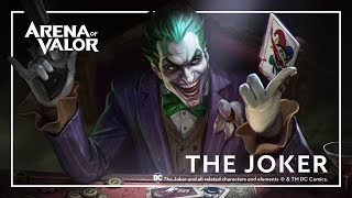 The Joker: Hero Spotlight | Gameplay - Arena of Valor
