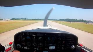 Touch and Go Landings in Diamond 20-C1