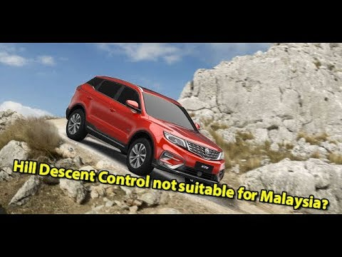 Proton X70 Hill Descent Control not useful in Malaysia? Proton X70 Features Guide EP03