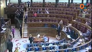 El diputado Joan Baldoví sufre un desmayo cuando intervenía en la tribuna