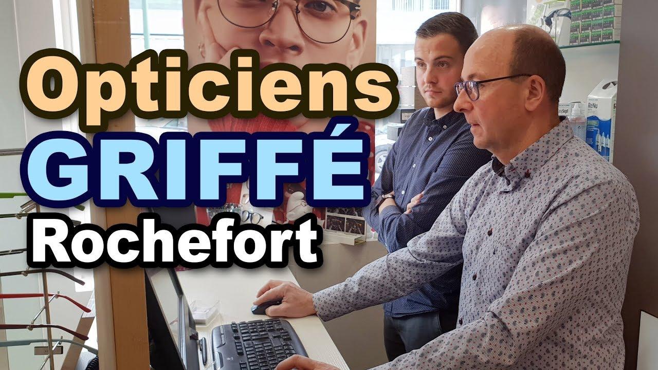 Les Opticiens Griffé à Rochefort  Présentation, test de vue, essayage  montures, placement verres. 15d0b91b8474