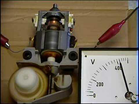 230V Elektromotor an 400V - YouTube