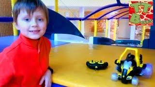 Детский Развлекательный Центр Игорек И Монстр Трак Перевертыш Развлечения Для Детей