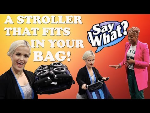 Mini Mama CAN FIT THIS STROLLER IN HER PURSE!