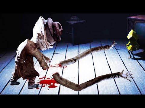 ОТРУБИЛ РУКИ Длиннорукому МОНСТРУ! Мои Маленькие Кошмары - Little Nightmares #4