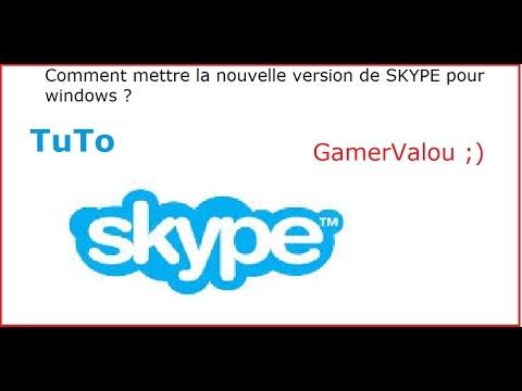 Comment faire pour mettre skype en francais