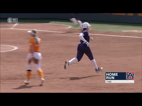 Auburn University Sports - Auburn Softball vs. Tennessee Game 1 Highlights