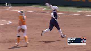 Auburn Softball vs. Tennessee Game 1 Highlights